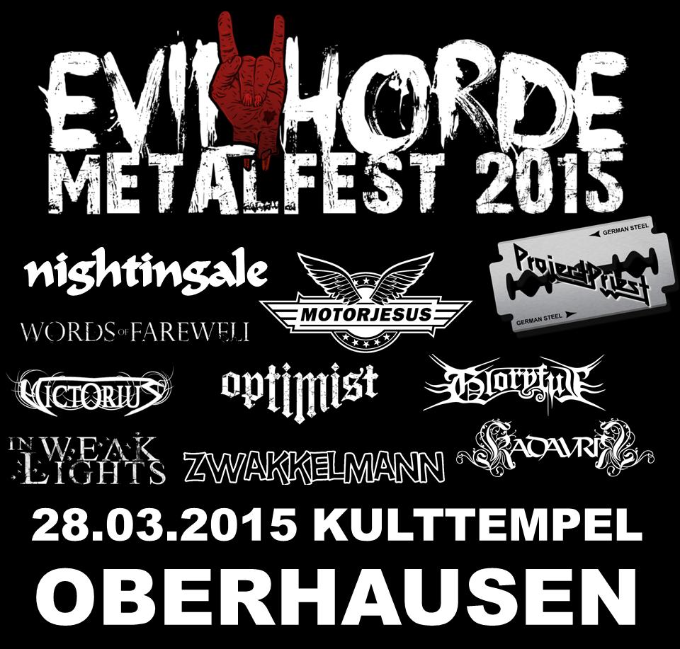 Evil Horde Metalfest 2015_Flyer Quadrat